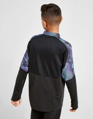 Puma Mens Football PLAY 1//4 Zip Top Jacket Grey//Black