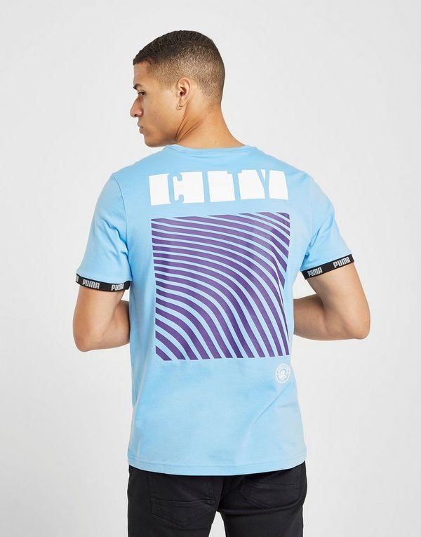 4b04e819 PUMA Manchester City FC Culture Short Sleeve T-Shirt   JD Sports