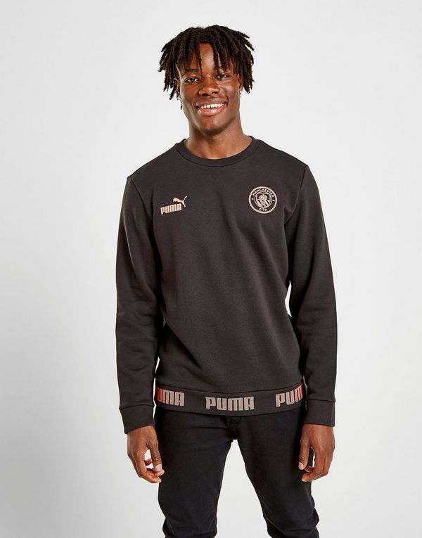 c0fefe5bd7d PUMA Manchester City FC Culture Sweatshirt | JD Sports