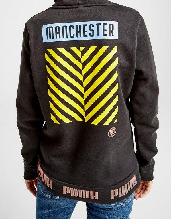 b5c44415 PUMA Manchester City FC Culture Hoodie   JD Sports