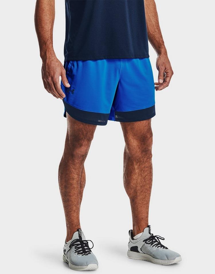 "Under Armour Train Stretch 7"" Wordmark Shorts"