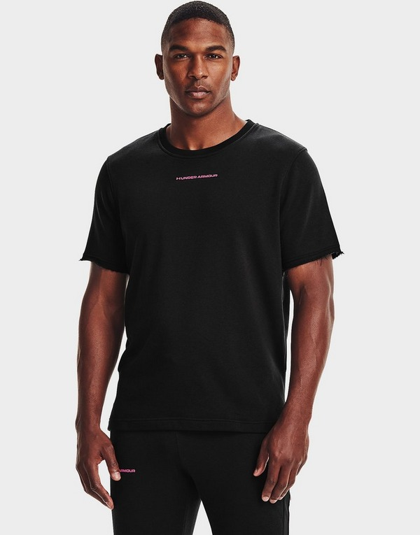 Under Armour Rival Terry AMP Short Sleeve Crew