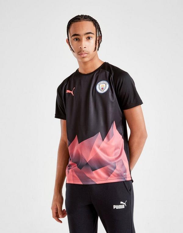 Puma Manchester City Stadium Short Sleeve Shirt Junior