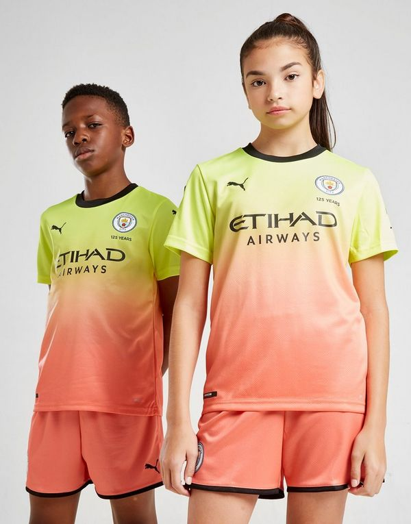 cbafb4c84b6 PUMA Manchester City FC 2019/20 Third Shirt Junior | JD Sports