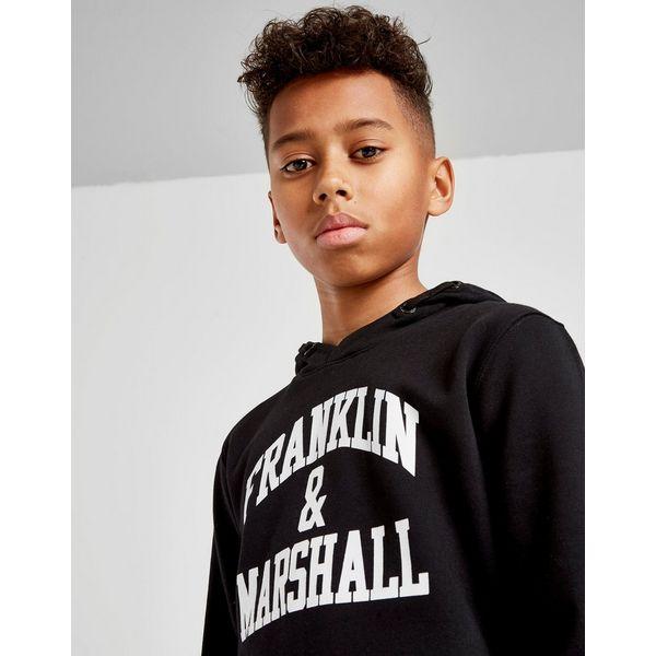 Franklin & Marshall Fleece Overhead Hoodie Junior