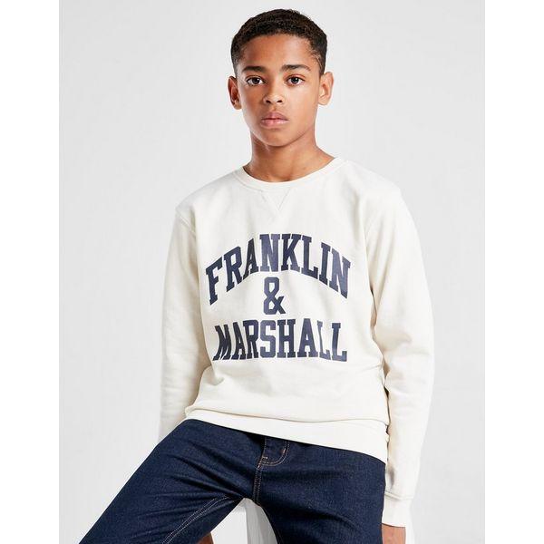 Franklin & Marshall Fleece Crew Sweatshirt Junior