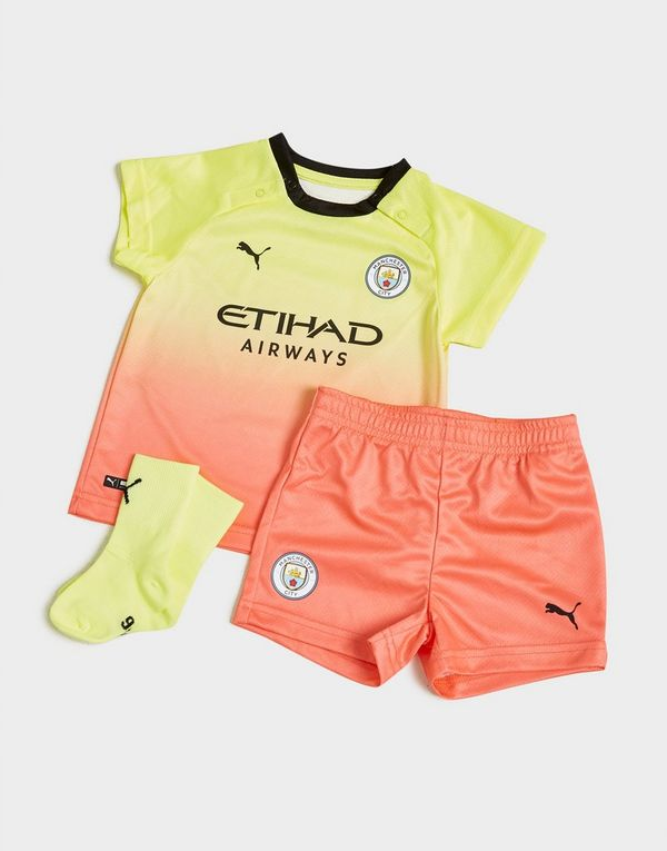 PUMA conjunto Manchester City FC 2019/20 3.ª equipación para bebé