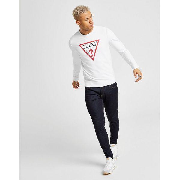 Guess Core Triangle Logo Crew Sweatshirt