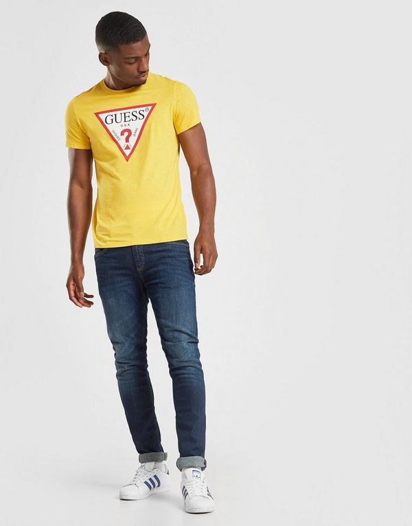 Guess Core Tri Logo Short Sleeve T-Shirt