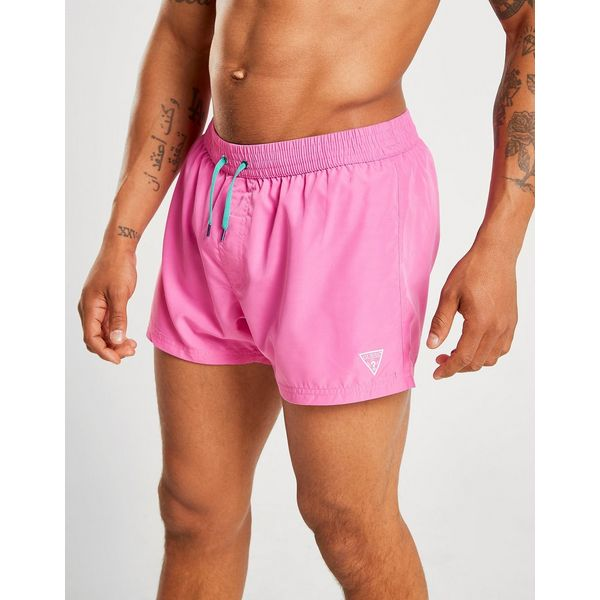 Guess Wet Dry Print Swim Shorts