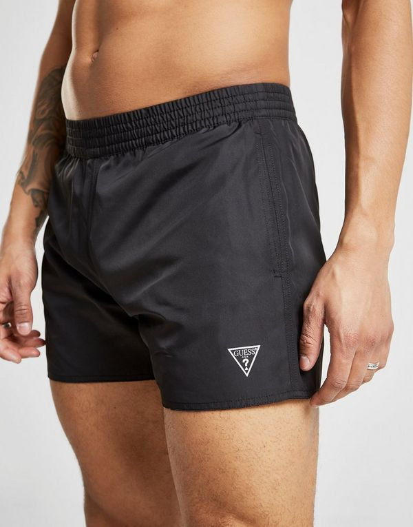 Guess Reversible All Over Print Swim Shorts