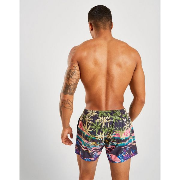 Guess Surf All Over Print Swim Shorts