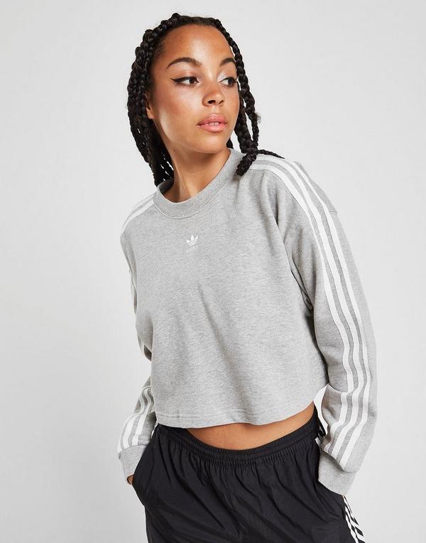 adidas Originals Fashion League Cropped Sweatshirt With