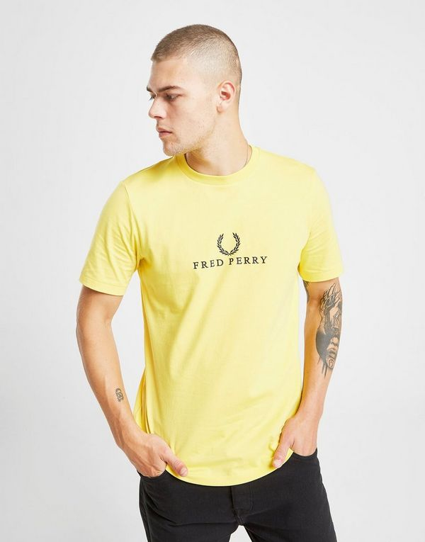 Fred Perry Central Logo T-Shirt