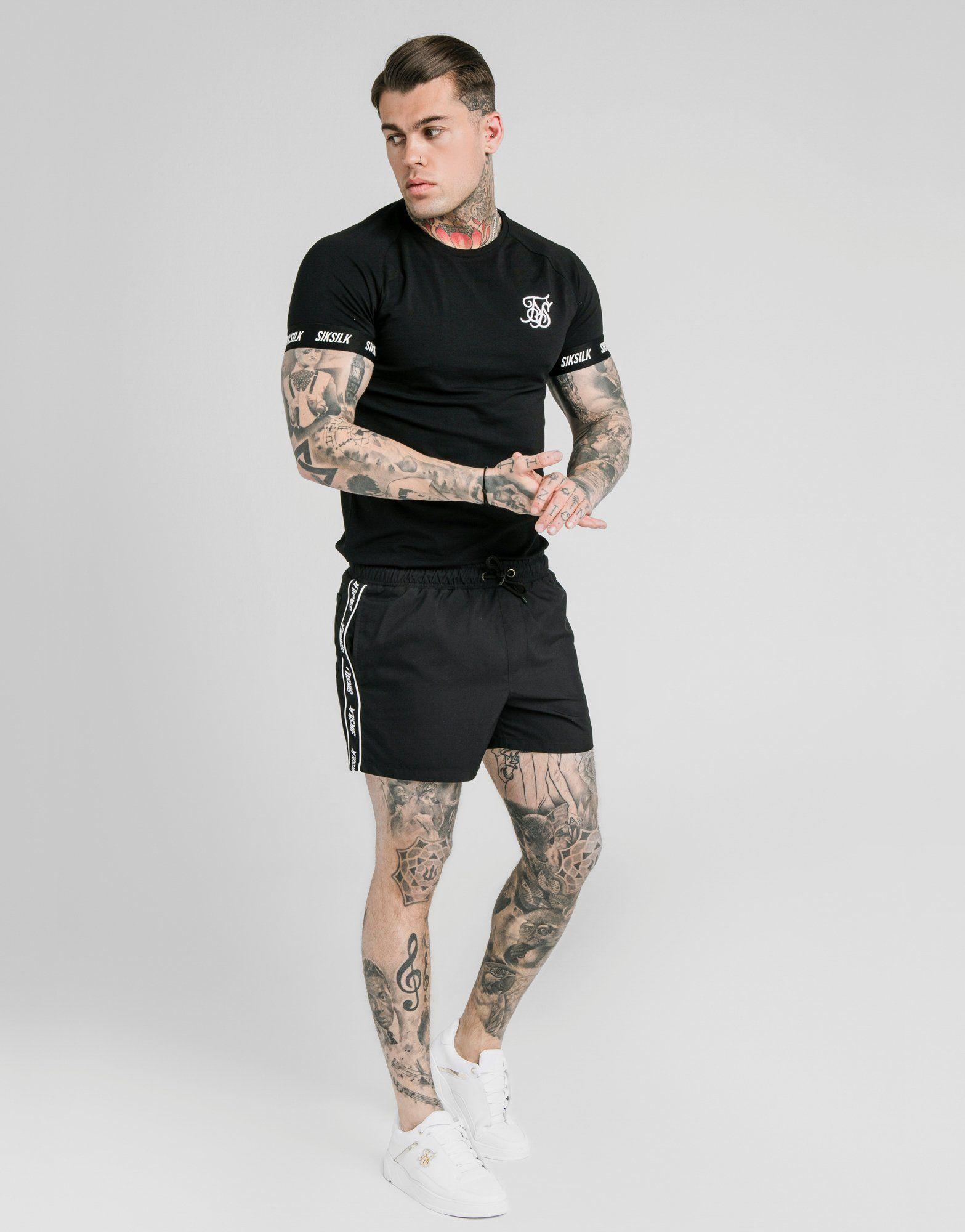 SikSilk Tech Swim Shorts