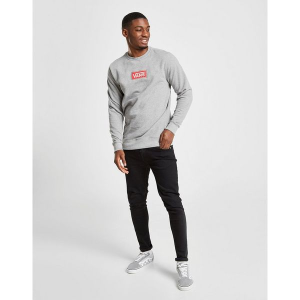 Vans Red Box Crew Sweatshirt