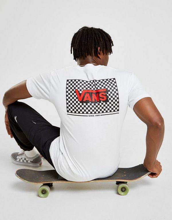 Vans Back Box Checkerboard T-Shirt