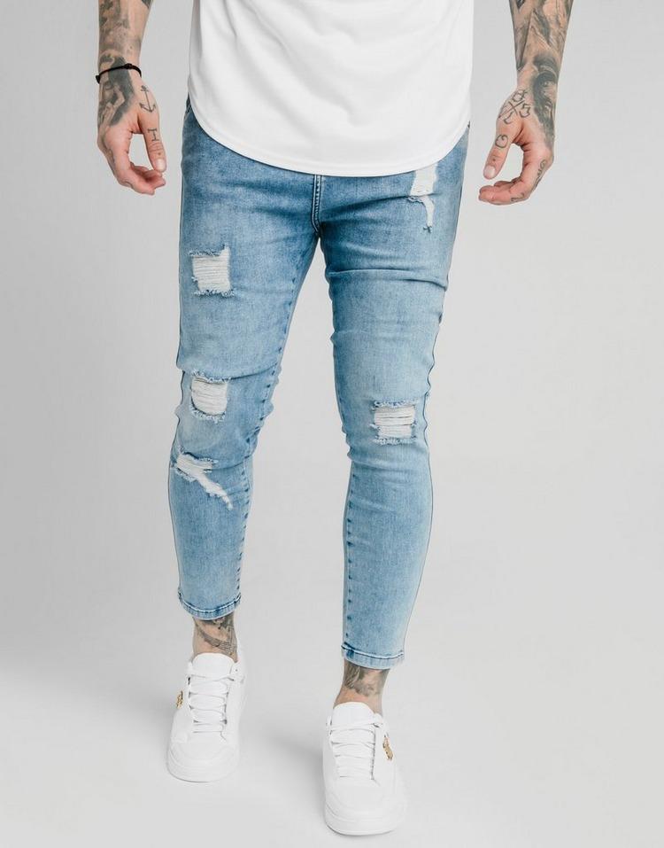SikSilk Skinny Midwash Jeans