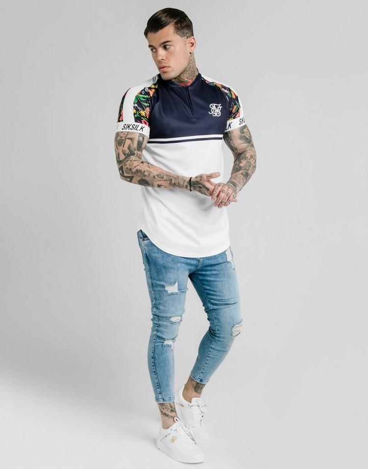 SikSilk Skinny Midwash Jeans Heren