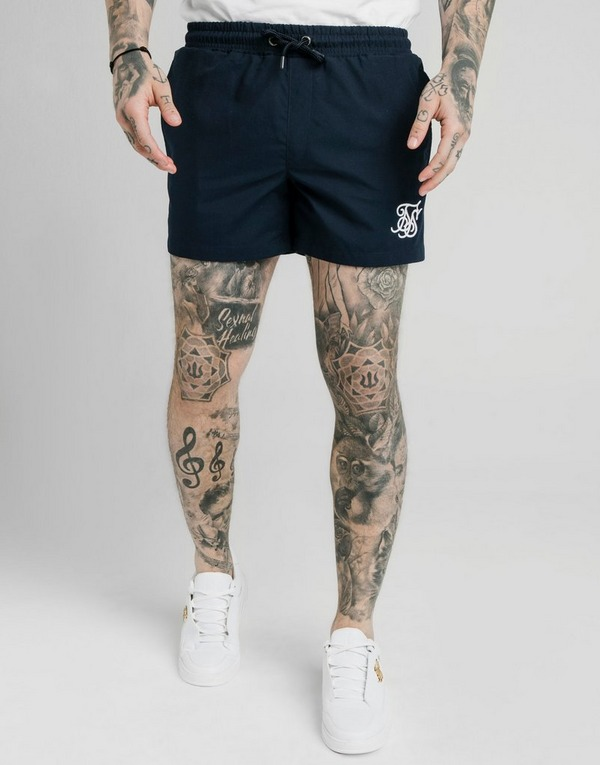 SikSilk Fade Panel Swim Shorts