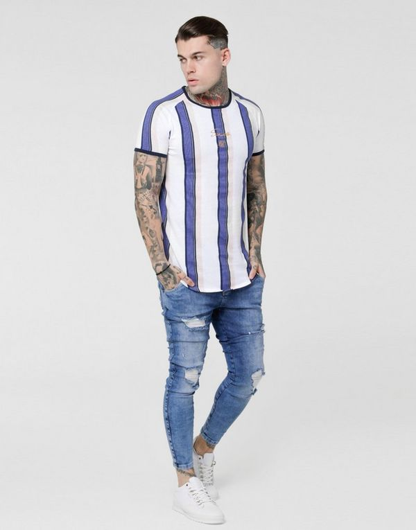 SikSilk camiseta Stripe