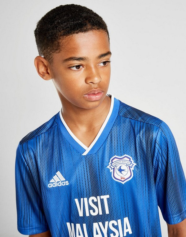 adidas Cardiff City FC 2019/20 Home Shirt Junior