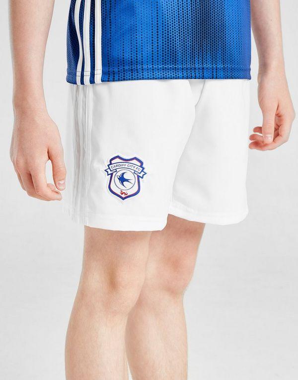 215f3bb9 adidas Cardiff City FC 2019/20 Home Shorts Junior   JD Sports