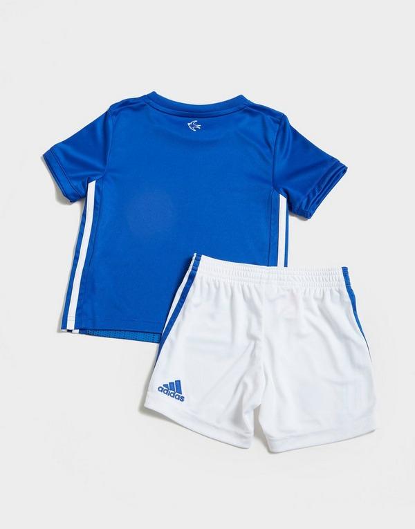 adidas Cardiff City FC 2019/20 Home Kit Children
