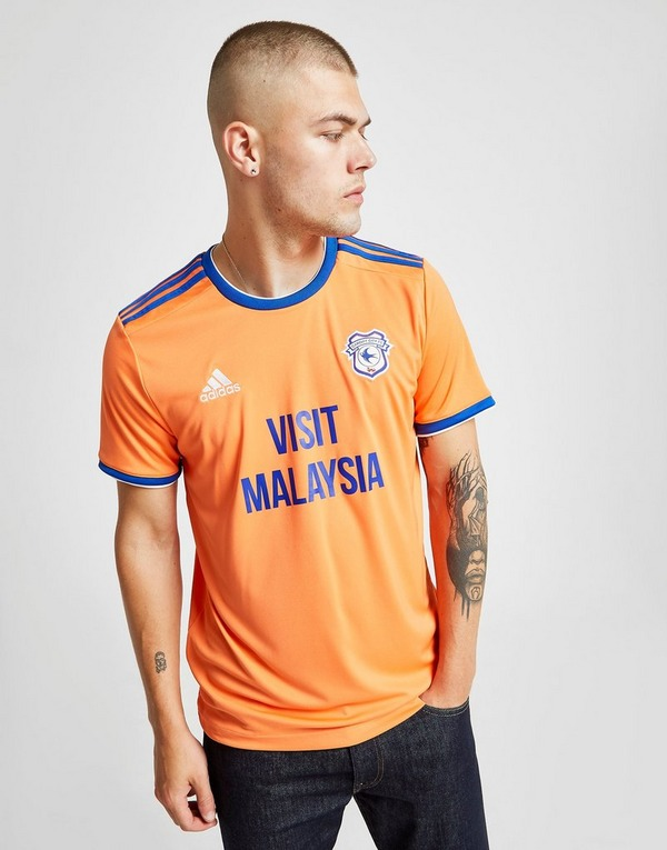 adidas Cardiff City FC 2019/20 Away Shirt