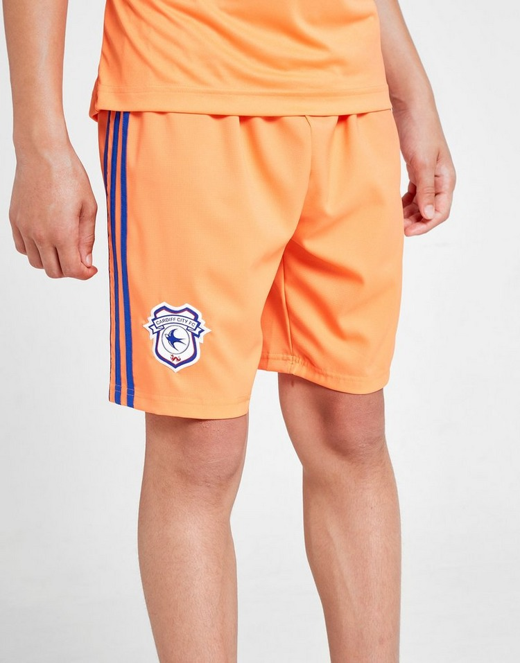 adidas Cardiff City FC 2019/20 Away Shorts Kinder
