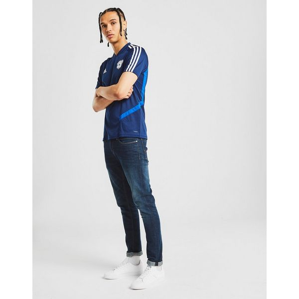 adidas Cardiff City FC Training Shirt