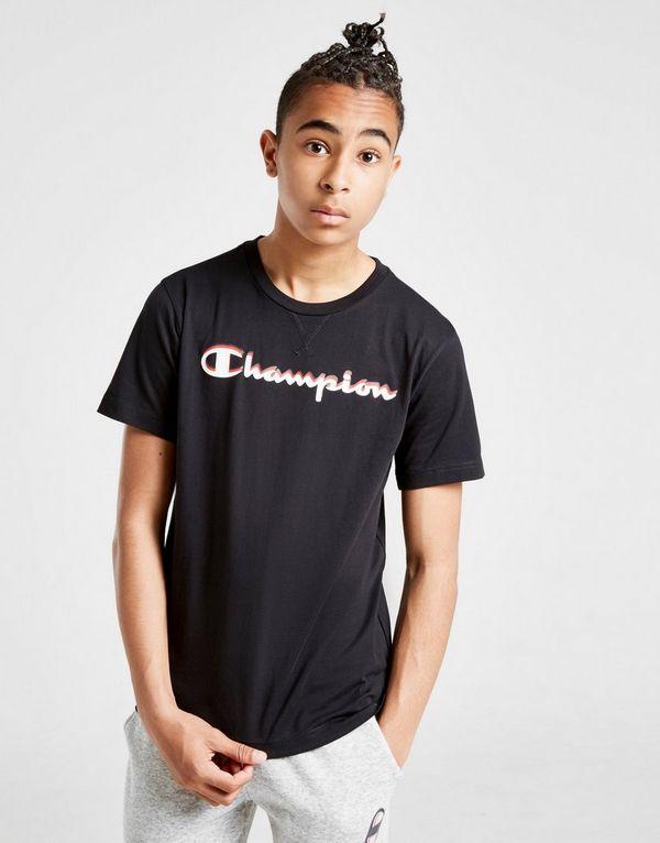 Champion camiseta Logo júnior