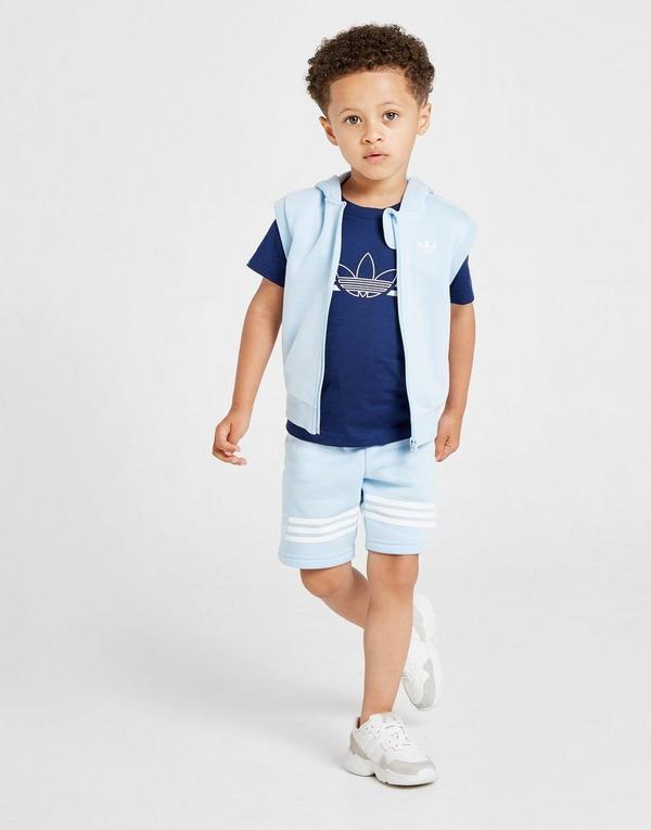 adidas Originals conjunto de chándal 3-Piece Sleeveless para bebé