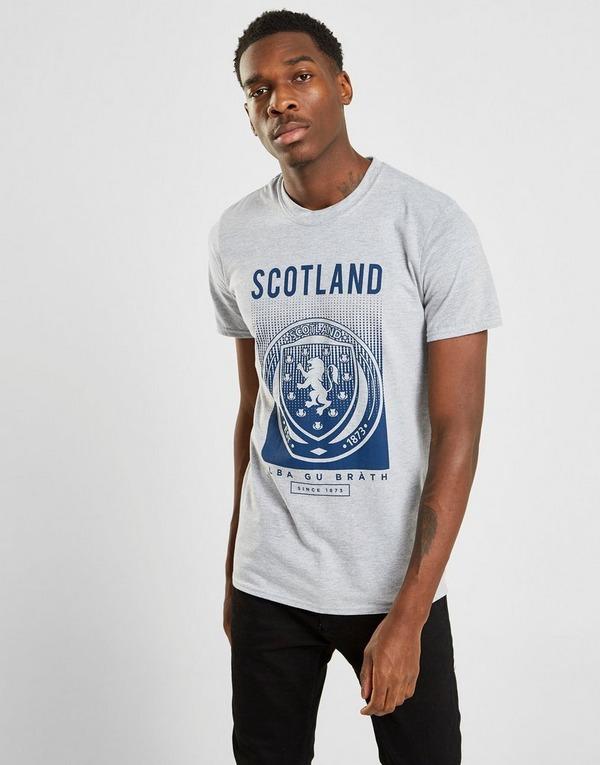 Official Team Skotland FA Fade Kortærmet T-Shirt Herre