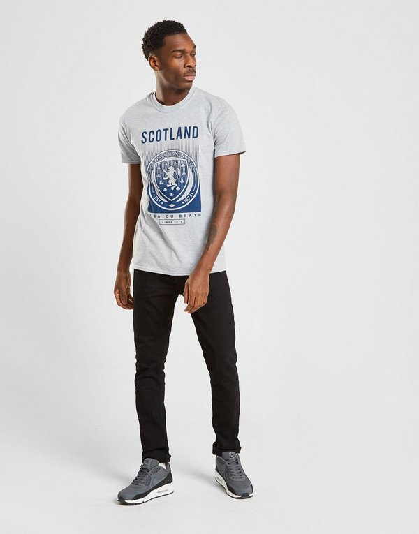Official Team Scotland FA Fade Short Sleeve T-Shirt