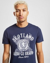 Official Team Scotland FA Alba Kortærmet T-Shirt Herre