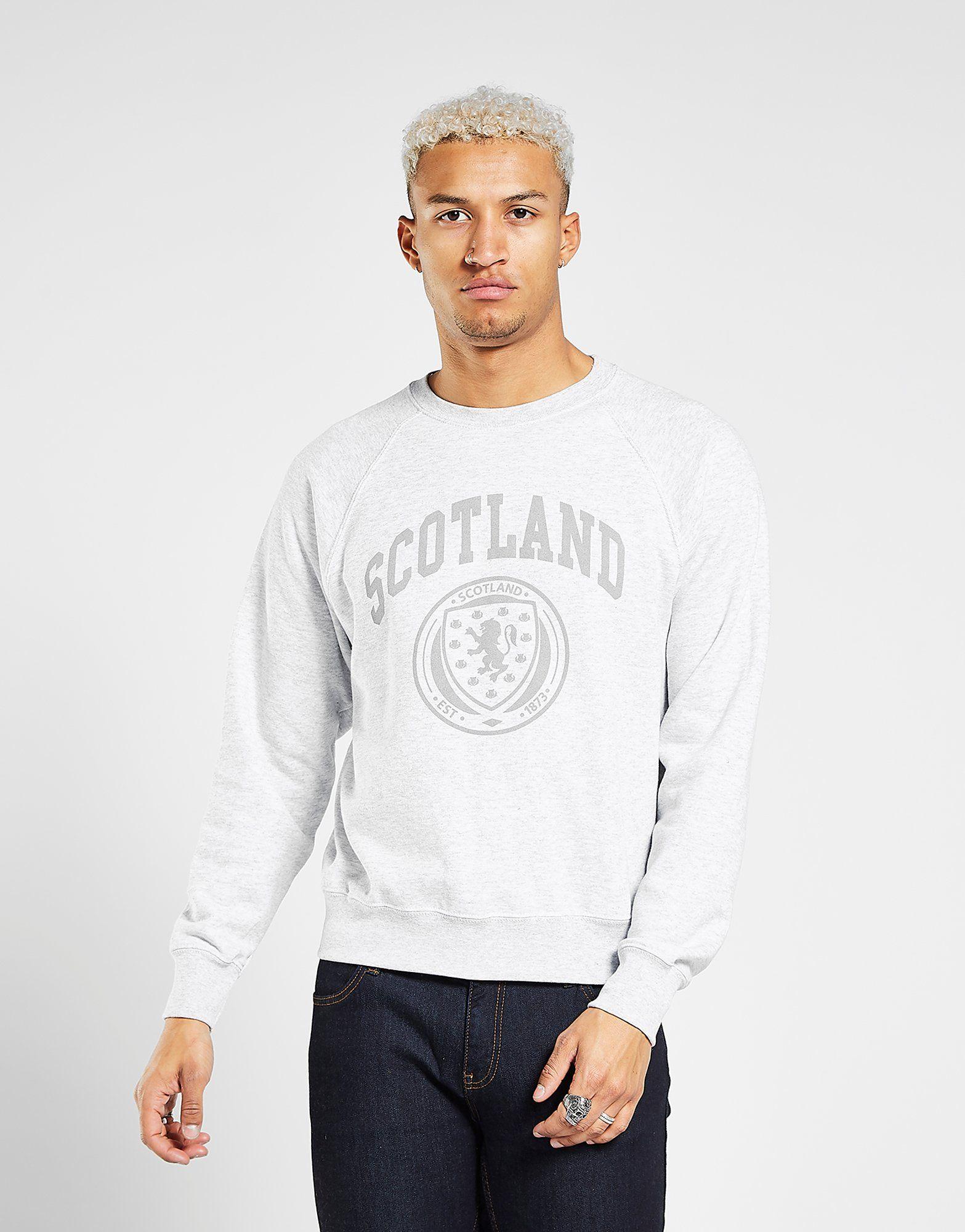 Official Team Scotland FA Crew Sweatshirt