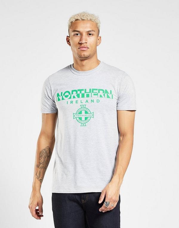 Official Team T-Shirt Irlande du Nord Split Homme