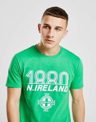 Official Team Northern Ireland 1880 Short Sleeve T-Shirt