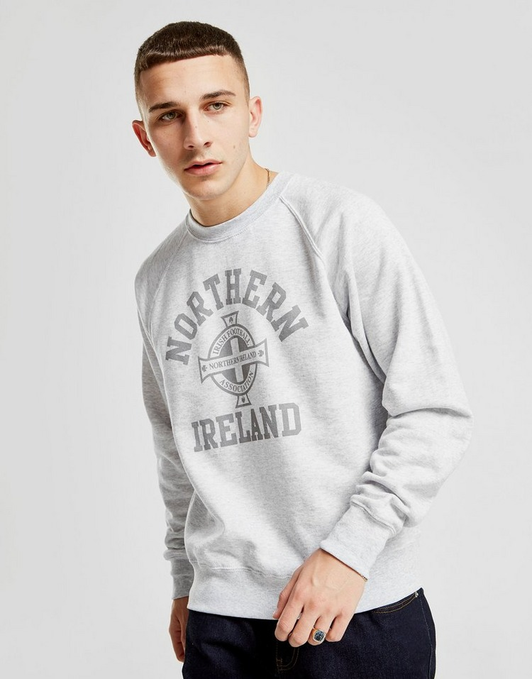 Official Team Northern Ireland Crew Sweatshirt Herre