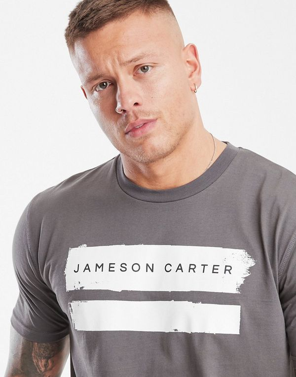 bfe80939d28 JAMESON CARTER Paint Stripe T-Shirt | JD Sports