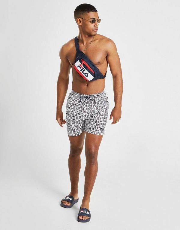 Fila Cannon All Over Print Swim Shorts