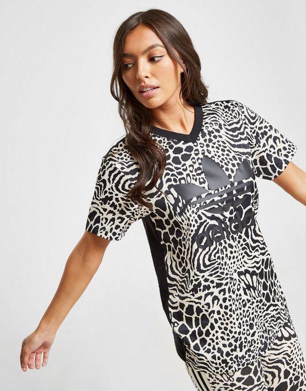 Leopard Adidas All Over Sports Trefoil Originals ShirtJd T Print Ib6vY7yfg