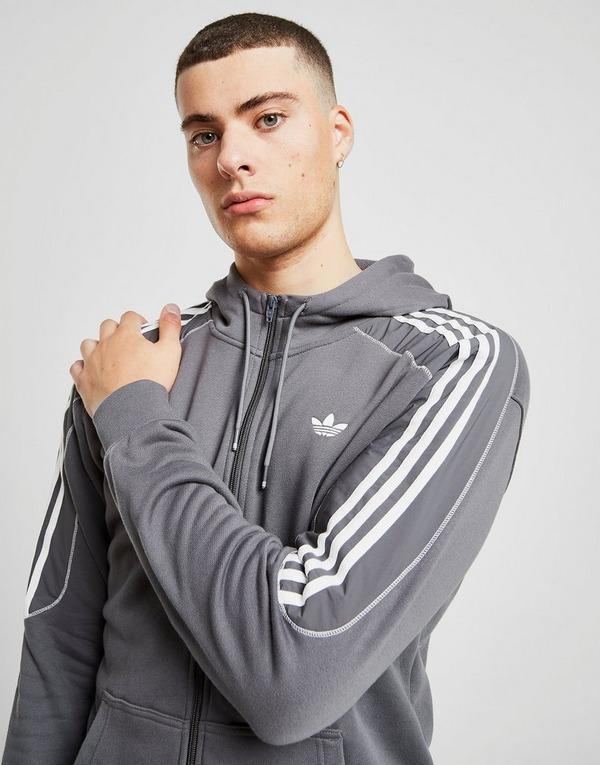 Koop Grijs adidas Originals Radkin Full Zip Hoodie Heren