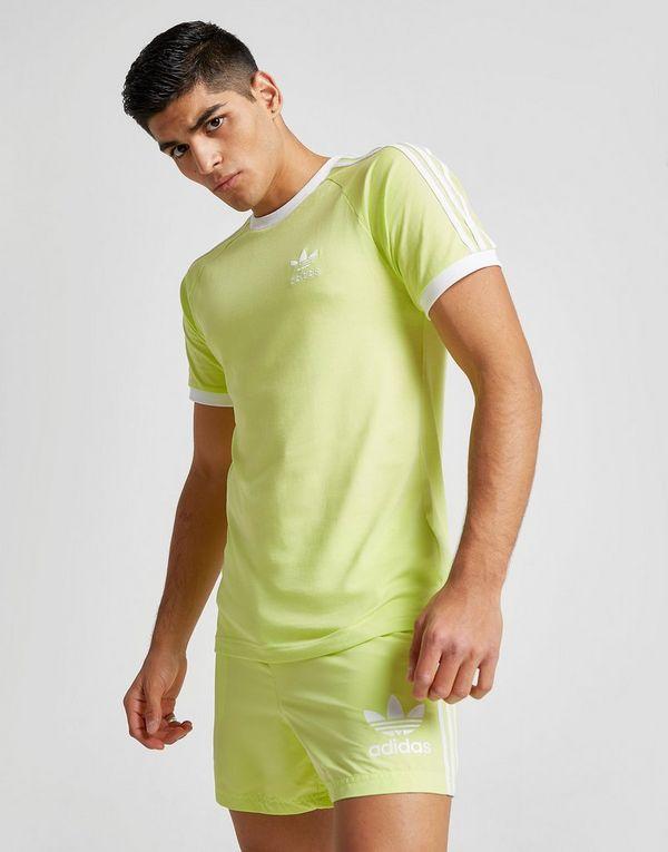 Adidas Originals Green California Short Sleeve T shirt for men