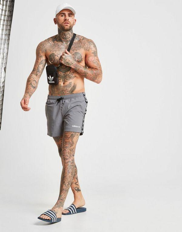 2437ab8b9 adidas Originals Tape Swim Shorts | JD Sports