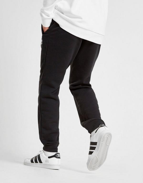 ADIDAS ORIGINALS Joggingshose 'Trefoil' in schwarz weiß