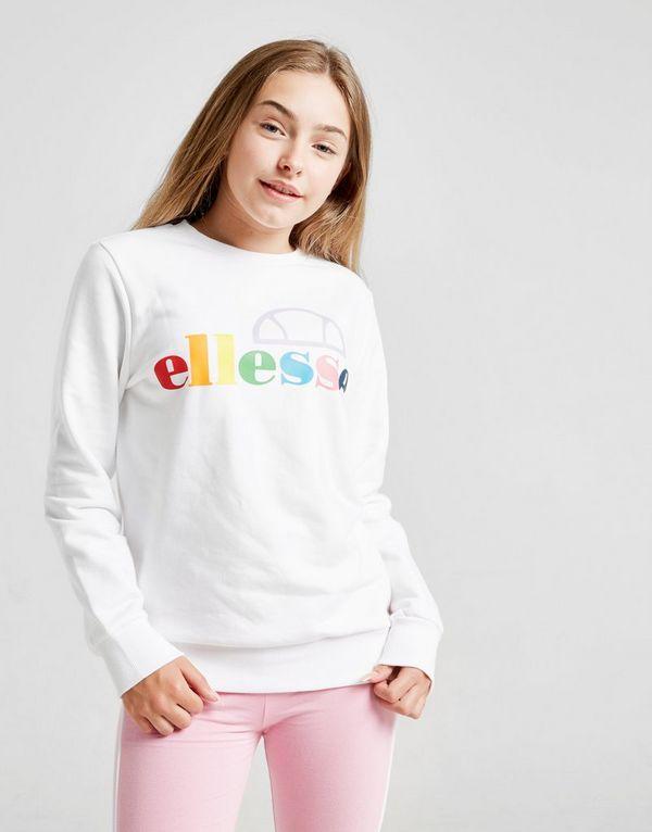 Ellesse Girls' Salina Boyfriend Crew Sweatshirt Junior