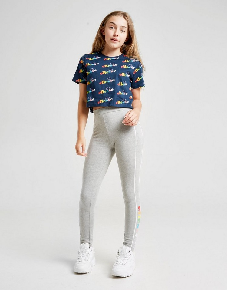 Ellesse camiseta Girls' Maratea All Over Print Crop júnior