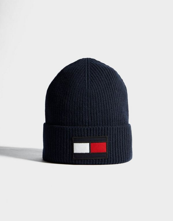 04cec97e9 Tommy Hilfiger Flag Beanie | JD Sports